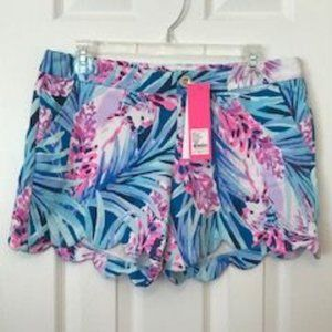 NWT Lilly Pulitzer Butterup Knit Shorts Size 6